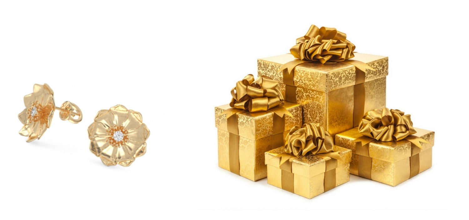 Brivizo Jewelry Gold Gift Barcelona Spain